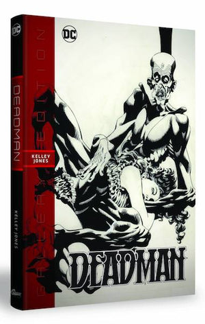 Deadman Kelley Jones Gallery Edition Hard Cover Graphic Novel by Graphitti Designs