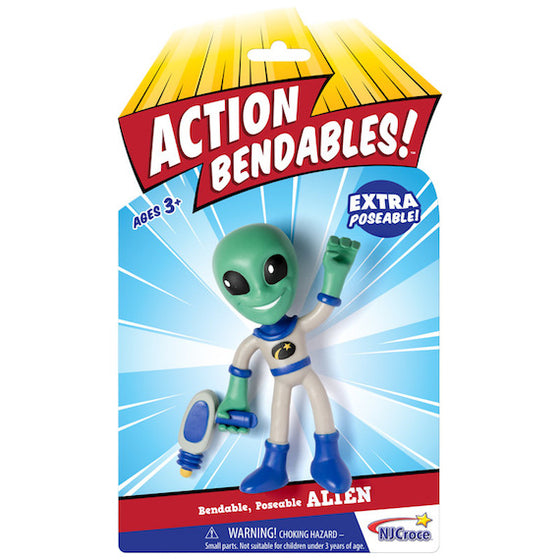 Action Bendable Alien Figure by NJ Croce
