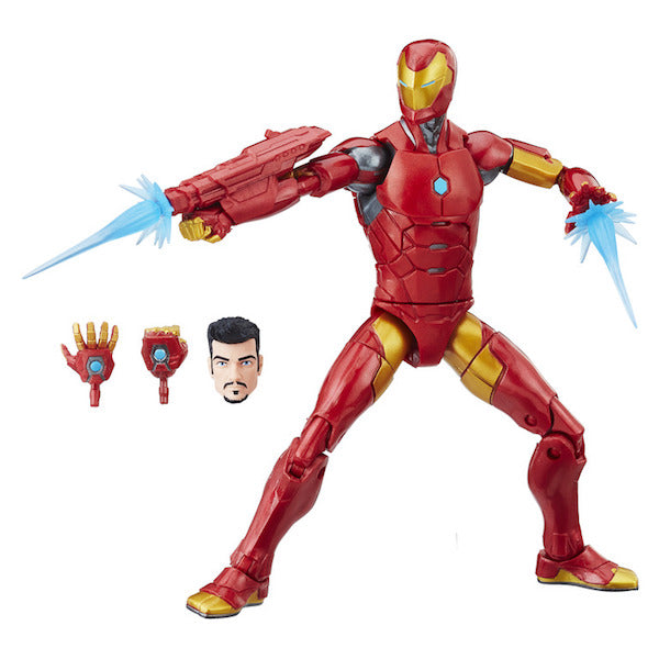 Black Panther Marvel Legends: Invincible Iron Man Figure by Hasbro