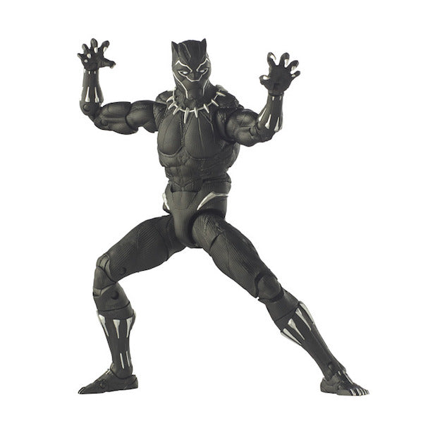 "Black Panther Marvel Legends: Black Panther 12"" Figure by Hasbro"