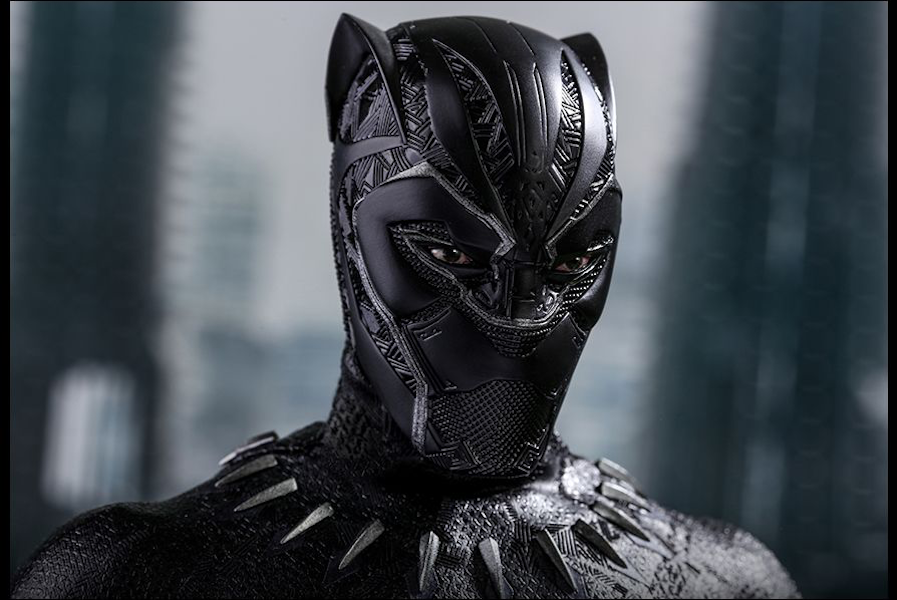Black Panther Movie: Black Panther 1/6th Scale Figure by ...