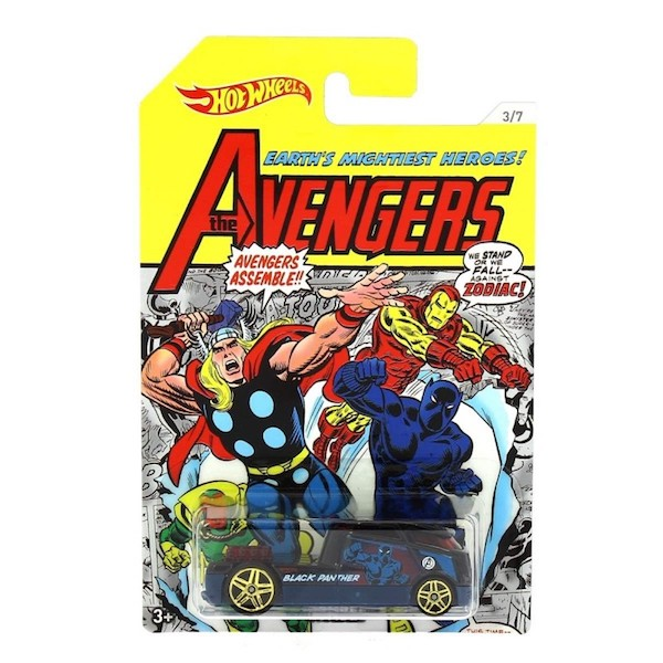 The Avengers: Black Panther: Qombee Car by Hot Wheels