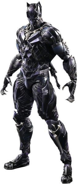 Marvel Comics: Black Panther Play Arts Kai Figure by Square Enix