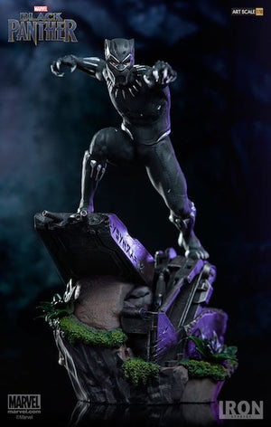Black Panther Movie: Black Panther 1:10th Art Scale Statue by Iron Studios
