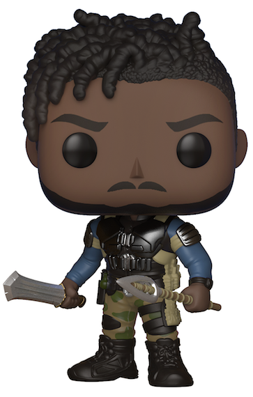 Black Panther Movie: Erik Killmonger Vinyl Bobble-Head by Funko