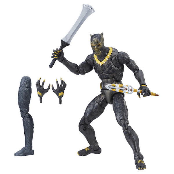 Black Panther Marvel Legends: Erik Killmonger Figure by Hasbro