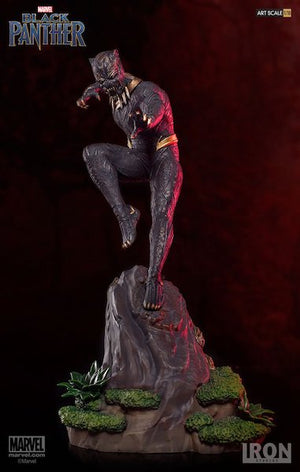 Black Panther Movie: Erik Killmonger 1:10th Art Scale Statue by Iron Studios