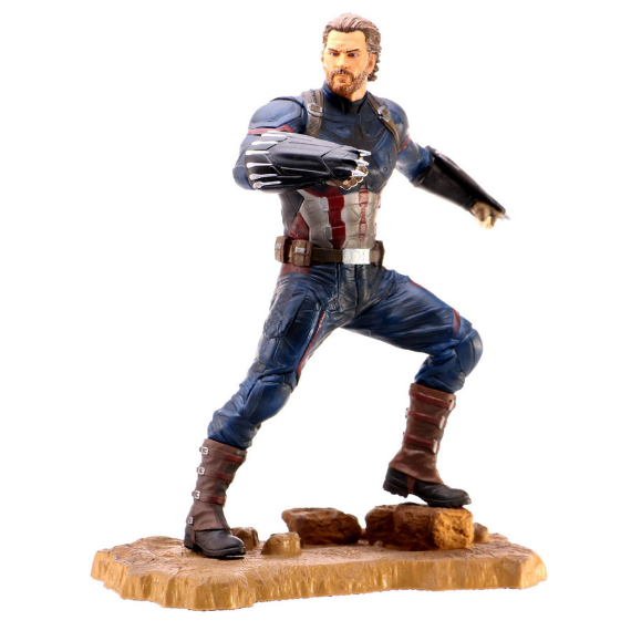 Marvel Gallery Avengers Infinity War Captain America PVC Statue by Diamond Select Toys