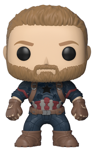 Avengers: infinity War: Captain America Vinyl Bobble-Head by Funko