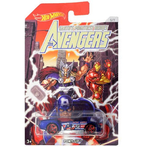 The Avengers: Captain America: Pony-Up Car by Hot Wheels