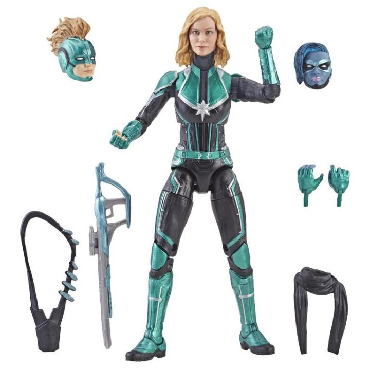 Captain Marvel Starforce Commander Marvel Legends Figure by Hasbro
