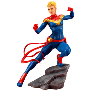 Marvel Comics Captain Marvel ArtFX+ Statue by Kotobukiya