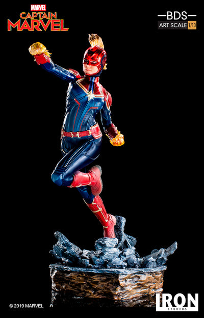Captain Marvel 1/10th Art Scale Statue by Iron Studios
