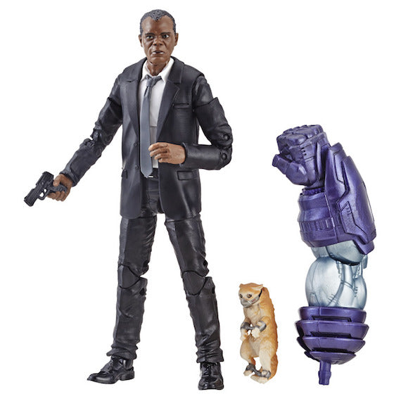 Captain Marvel Marvel Legends Nick Fury Figure by Hasbro