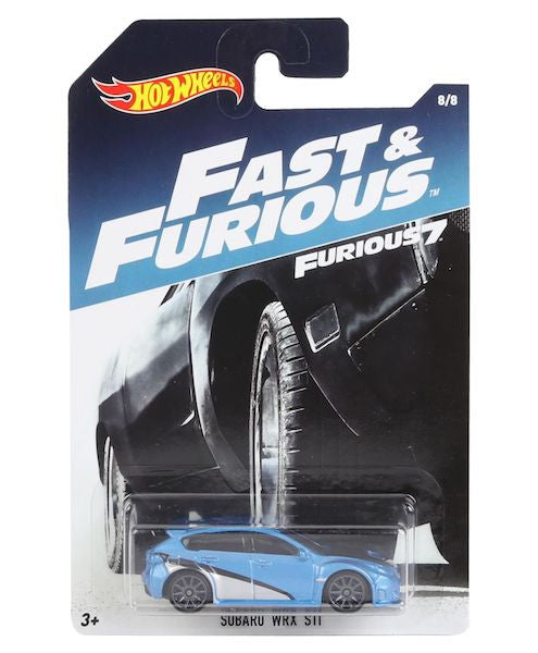 Fast & Furious Subaru WRX Die-Cast Car by Hot Wheels