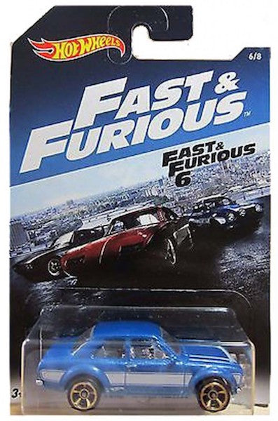 Fast & Furious 70 Ford Escort RS1600 Die-Cast Car by Hot Wheels