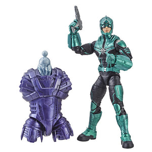 Captain Marvel Marvel Legends Starforce Commander Figure by Hasbro