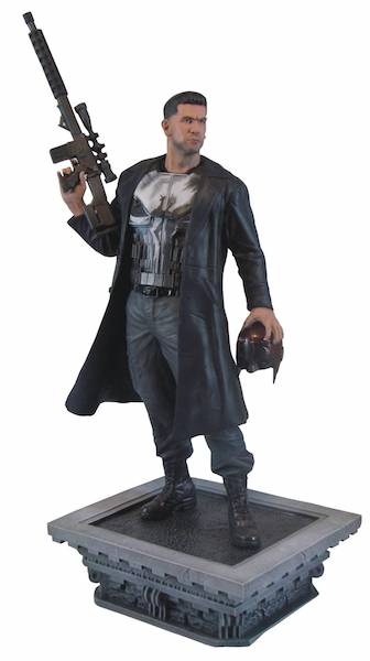 Marvel Gallery Daredevil TV Series: The Punisher Statue by Diamond Select Toys