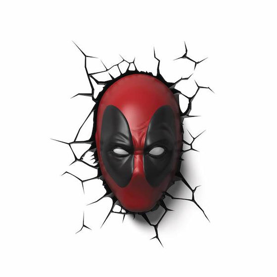 Deadpool Mask 3D Deco Light by 3D Light FX