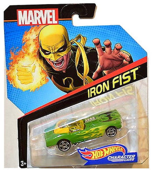 Marvel Character Car: Iron Fist Die-cast Car by Hot Wheels