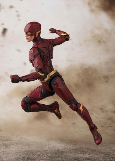 Justice League Movie Flash Action Figure by SH Figuarts -SH Figuarts - India - www.superherotoystore.com