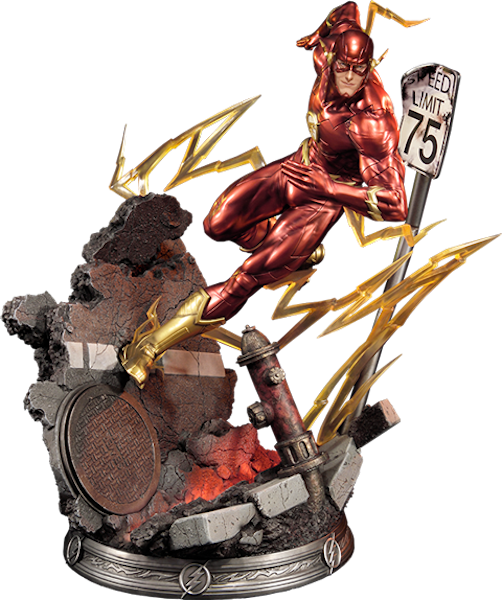 DC Comics: Justice League New 52: The Flash Statue by Sideshow Collectibles