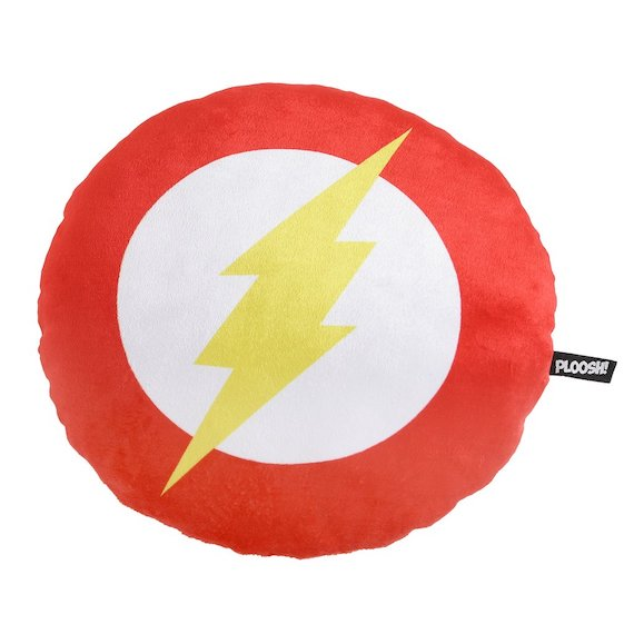 DC Comics Flash Logo Plush by Bombay Merch -Bombaymerch - India - www.superherotoystore.com
