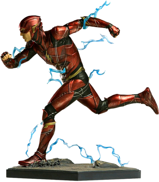 Justice League Movie: Flash 1:10th Art Scale Statue by Iron Studios