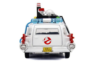 Ghost Busters 1:24 Scale Cadillac ECTO-1 Die Cast Car by Jada Toys