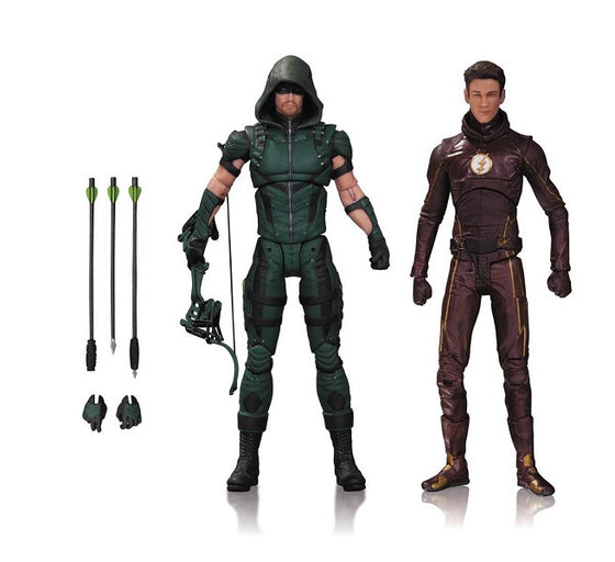Arrow & The Flash TV Series Action Figures by DC Collectibles