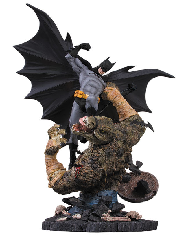 DC Collectibles Statue Batman vs. Killer Croc [2nd Edition] Pre-Order ships October-DC Collectibles- www.superherotoystore.com-Action Figure - 2