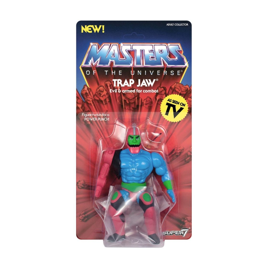 Masters of the Universe - Trap Jaw 7 Inch Figure by Super7 -Super7 - India - www.superherotoystore.com