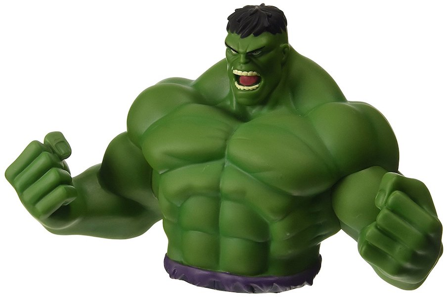 Incredible Hulk Bust Bank by Monogram