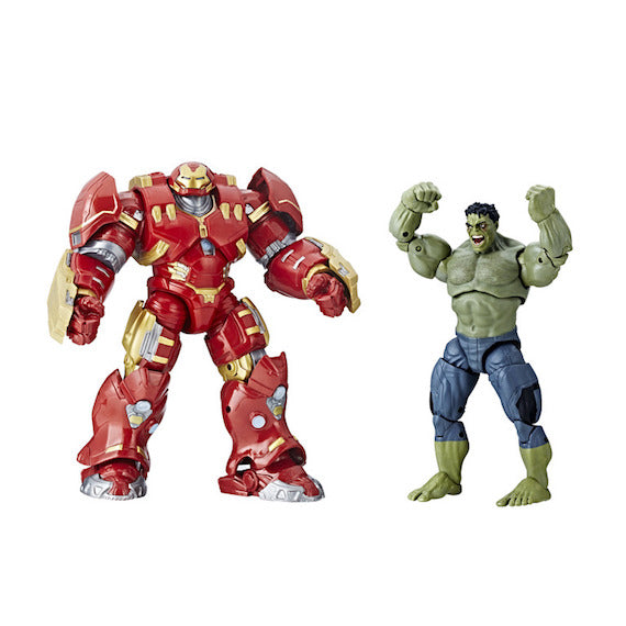 Marvel Studios The First Ten Years Hulk and Hulk Buster 2 Pack by Hasbro