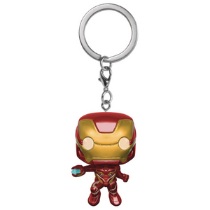 Avengers Infinity War Iron Man Pocket Pop! Keychain by Funko