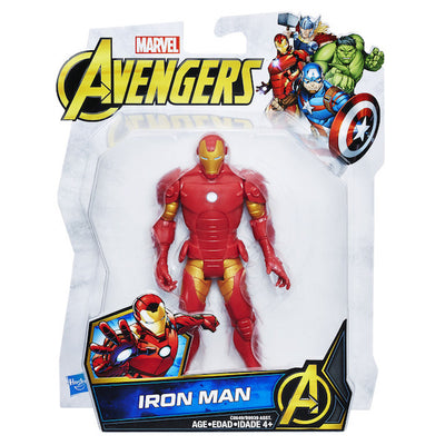 Marvel Avengers: Iron Man 6-Inch Basic Action Figure by Hasbro