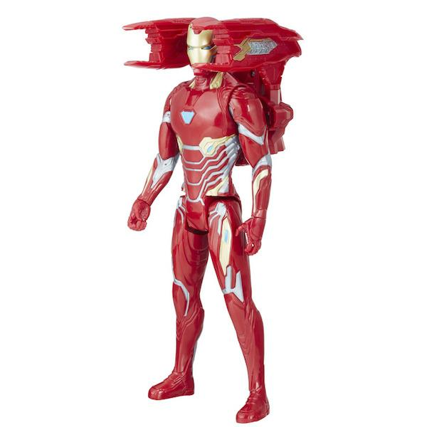 Avengers Infinity War: Titan Hero Series Iron Man Figure with Power FX Pack by Hasbro