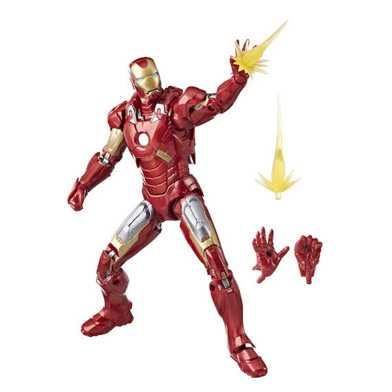 Marvel Studios The First Ten Years Iron Man Mk VII Figure by Hasbro