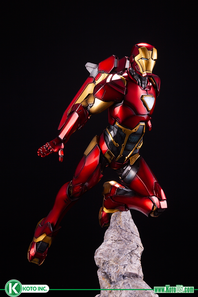 Iron Man 1:10th Scale Premier ArtFx Statue by Kotobukiya -Kotobukiya - India - www.superherotoystore.com