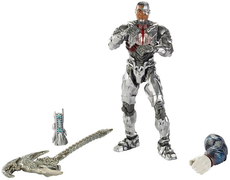 Justice League: Cyborg Multiverse Figure by Mattel