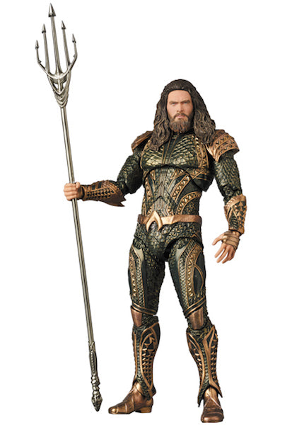 Justice League Movie: Aquaman Mafex Figure by Medicom Toys -Medicom - India - www.superherotoystore.com