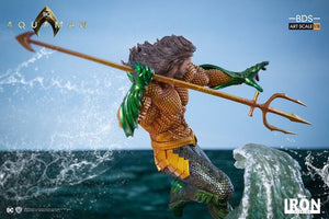 Aquaman Movie Aquaman 1:10th Art Scale Statue by Iron Studios