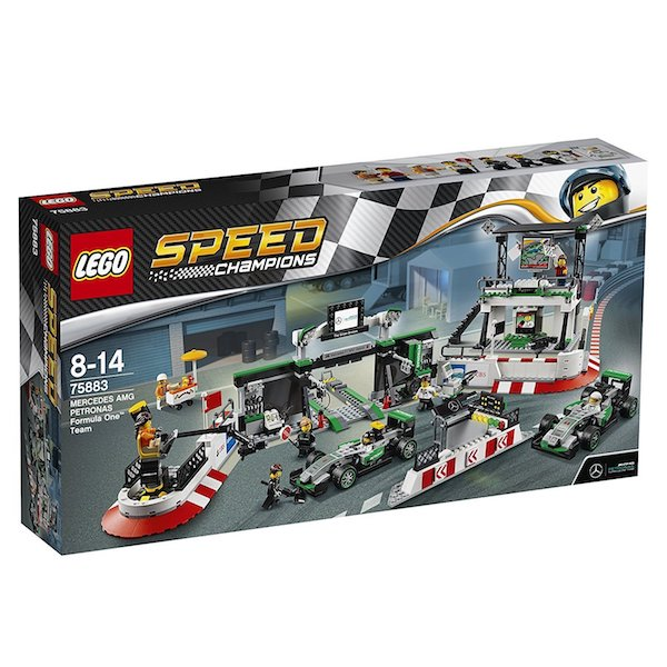 Mercedes Benz AMG Petronas Formula One Team Set by Lego