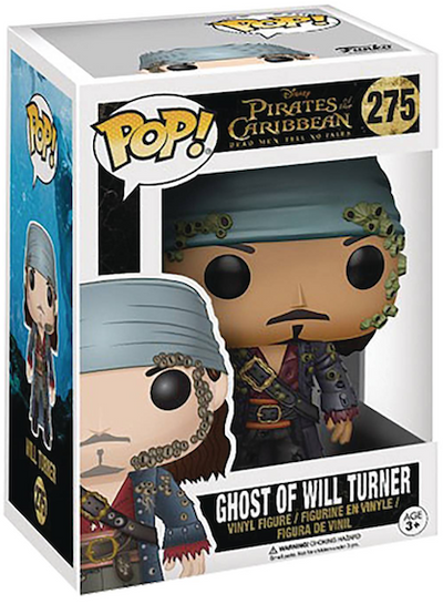 Pirates of the Caribbean Dead Men Tell No Tales Will Turner Pop! Vinyl Figure by Funko -Funko - India - www.superherotoystore.com
