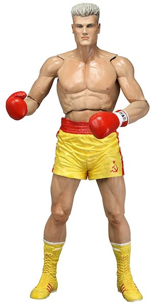 Rocky 40th Anniversary Ivan Drogo Yellow Costume Action Figure by Neca
