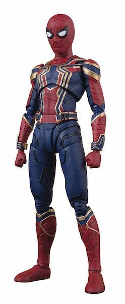 Avengers Infinity War: S.H. Figuarts Iron Spider Figure by Bandai