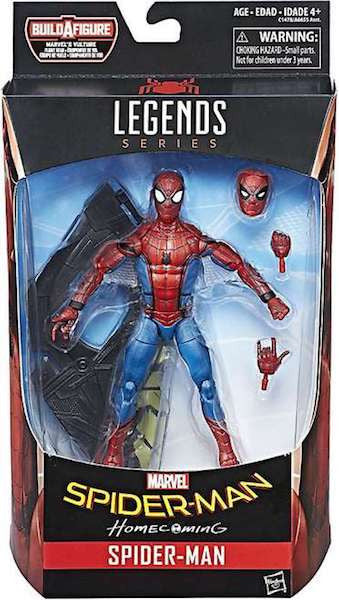 Marvel Legends: Spider-man Homecoming: Spider-man Figure by Hasbro