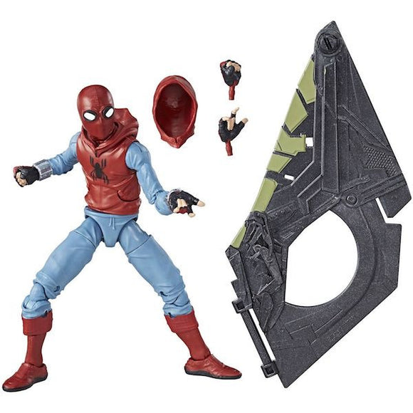 Marvel Legends: Spider-man Homecoming: Spider-man (Homemade Suit) Figure by Hasbro