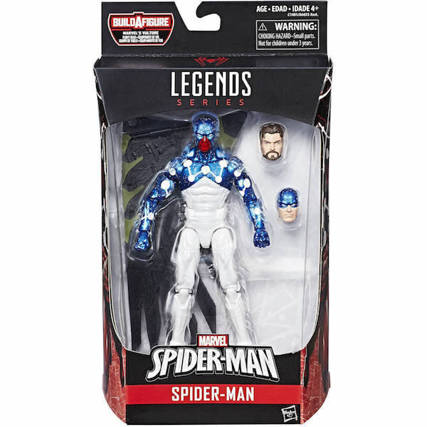 Marvel Legends: Spider-man Homecoming: Cosmic Spider-man Figure by Hasbro