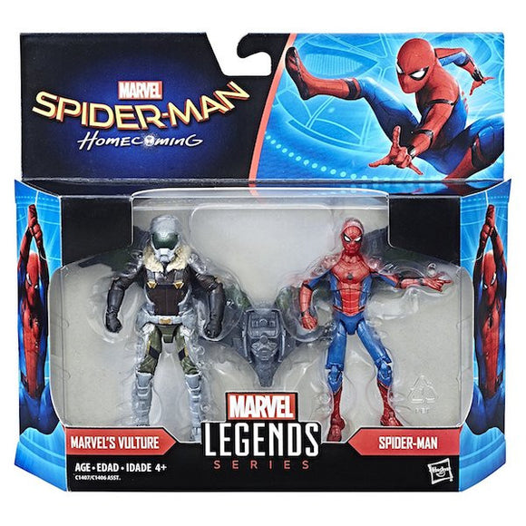Marvel Legends: Spider-Man Homecoming: Spider-Man and Vulture 2-Pack by Hasbro